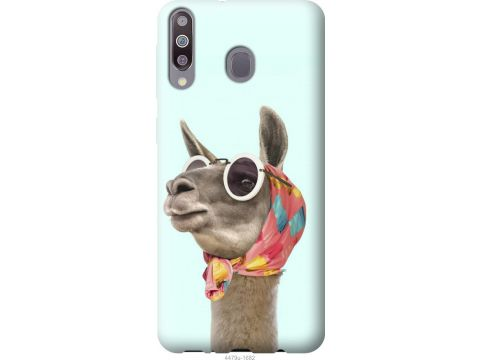 Чехол на Samsung Galaxy M30 Модная лама (4479u-1682-22700)