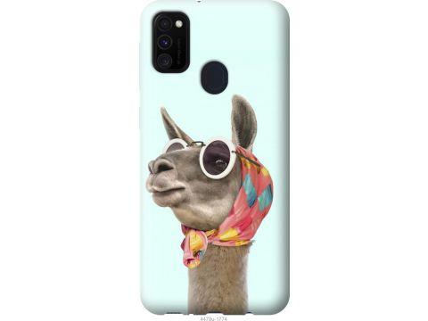 Чехол на Samsung Galaxy M30s 2019 Модная лама (4479t-1774-22700)