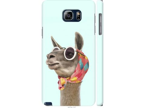 Чехол на Samsung Galaxy Note 5 N920C Модная лама (4479m-127-22700)