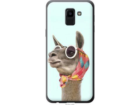 Чехол на Samsung Galaxy J6 2018 Модная лама (4479t-1486-22700)