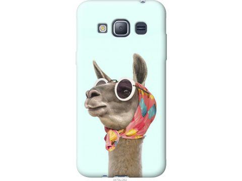 Чехол на Samsung Galaxy J1 (2016) Duos J120H Модная лама (4479u-262-22700)