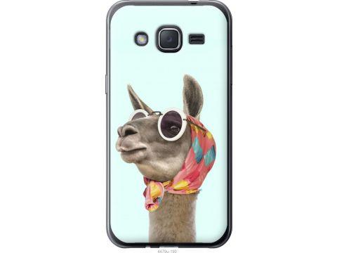 Чехол на Samsung Galaxy J2 J200H Модная лама (4479u-190-22700)