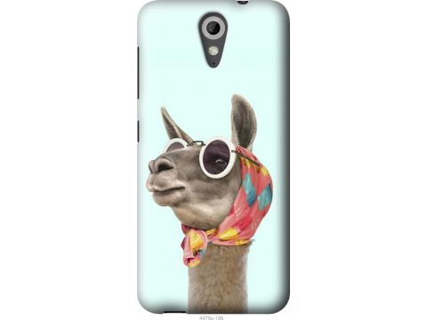 Чехол на HTC Desire 620 Модная лама (4479u-186-22700)