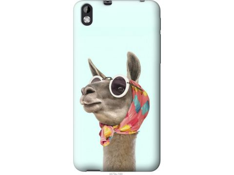 Чехол на HTC Desire 816 Модная лама (4479u-169-22700)