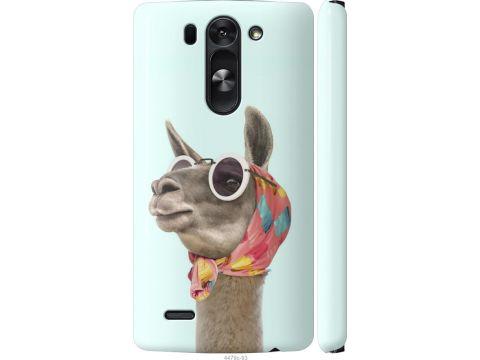 Чехол на LG G3s D724 Модная лама (4479m-93-22700)