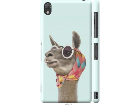 Чехол на Sony Xperia Z3 D6603 Модная лама (4479c-58-22700)