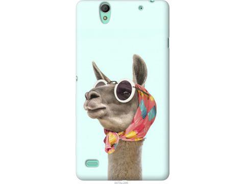 Чехол на Sony Xperia C4 E5333 Модная лама (4479u-295-22700)