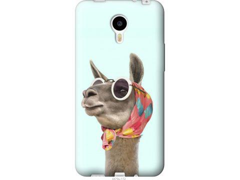 Чехол на Meizu M1 Note Модная лама (4479u-172-22700)
