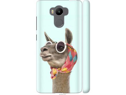 Чехол на Xiaomi Redmi 4 pro Модная лама (4479m-438-22700)