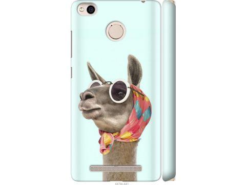 Чехол на Xiaomi Redmi 3x Модная лама (4479m-441-22700)