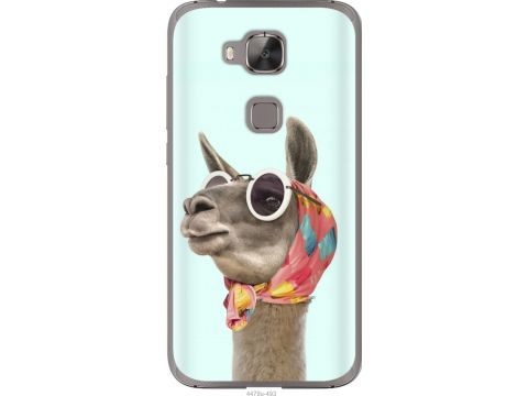 Чехол на Huawei G7 Plus Модная лама (4479u-952-22700)