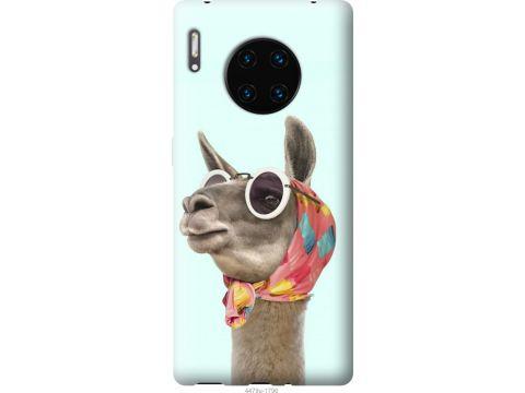 Чехол на Huawei Mate 30 Pro Модная лама (4479u-1796-22700)