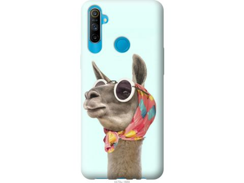 Чехол на Realme C3 Модная лама (4479u-1889-22700)