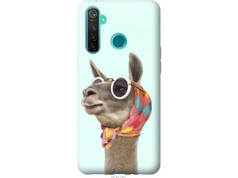 Чехол на Realme 5 Pro Модная лама (4479u-1861-22700)