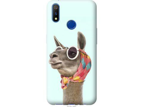Чехол на Realme X Lite Модная лама (4479u-2030-22700)