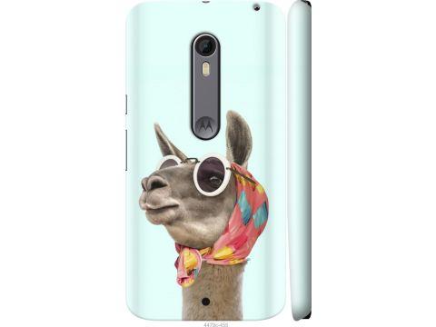 Чехол на Motorola Moto X Style Модная лама (4479m-455-22700)