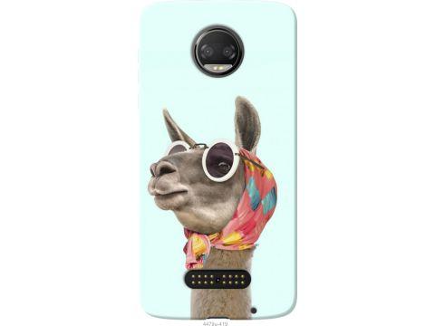 Чехол на Motorola MOTO Z Модная лама (4479u-419-22700)