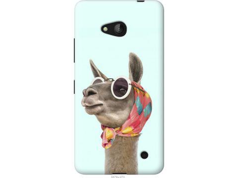 Чехол на Microsoft Lumia 640 Модная лама (4479t-273-22700)