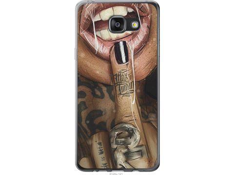 Чехол на Samsung Galaxy A7 (2016) A710F Swag-girl (4124t-121-22700)