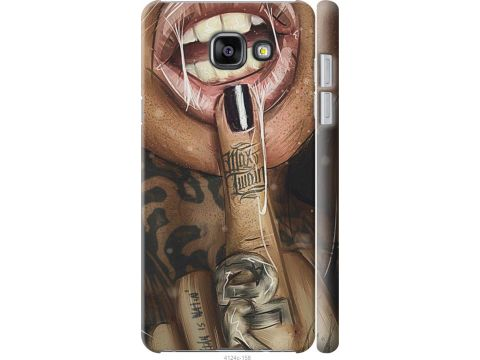 Чехол на Samsung Galaxy A5 (2016) A510F Swag-girl (4124c-158-22700)