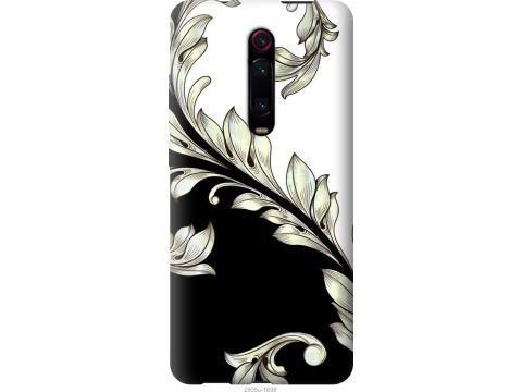 Чехол на Xiaomi Redmi K20 Pro White and black 1 (2805t-1816-22700)