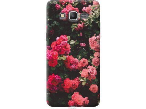 Чехол на Samsung Galaxy Grand Prime VE G531H Куст с розами (2729u-212-22700)