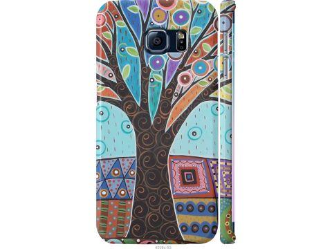 Чехол на Samsung Galaxy S6 Edge G925F Арт-дерево (4008m-83-22700)