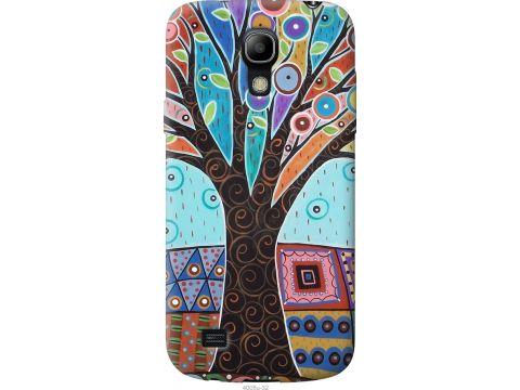 Чехол на Samsung Galaxy S4 mini Duos GT i9192 Арт-дерево (4008u-63-22700)