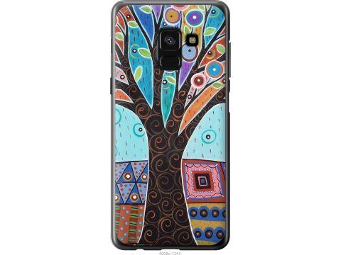 Чехол на Samsung Galaxy A8 2018 A530F Арт-дерево (4008u-1344-22700)