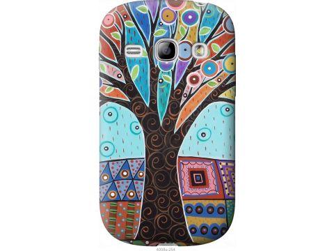 Чехол на Samsung Galaxy Fame S6810 Арт-дерево (4008u-254-22700)