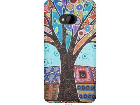 Чехол на HTC One M7 Арт-дерево (4008u-36-22700)