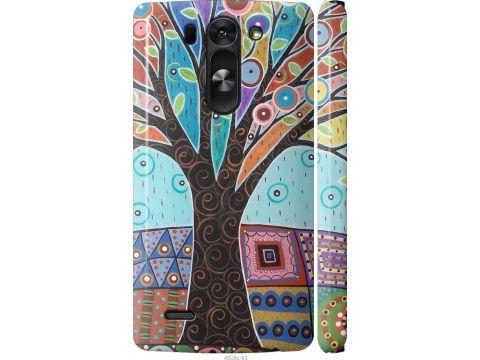 Чехол на LG G3s D724 Арт-дерево (4008m-93-22700)