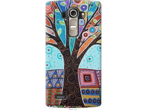 Чехол на LG G4 H815 Арт-дерево (4008u-118-22700)