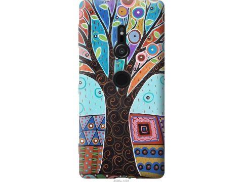 Чехол на Sony Xperia XZ2 H8266 Арт-дерево (4008u-1378-22700)
