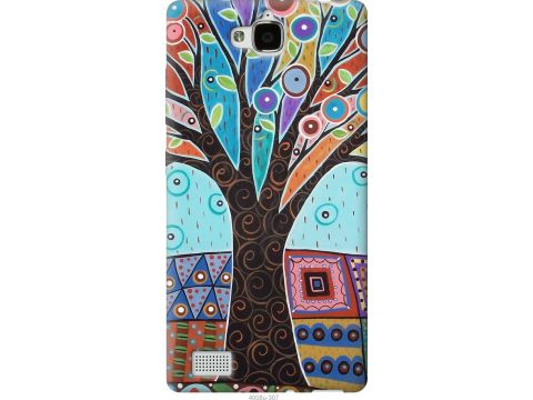 Чехол на Huawei Honor 3C Арт-дерево (4008u-307-22700)