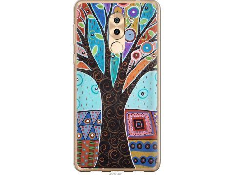 Чехол на Huawei Mate 9 Lite Арт-дерево (4008t-474-22700)