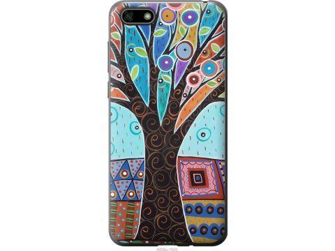 Чехол на Huawei Y5 2018 Арт-дерево (4008u-1500-22700)