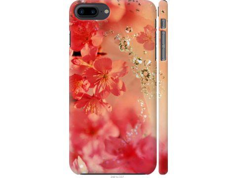 Чехол на iPhone 8 Plus Розовые цветы (2461c-1032-22700)
