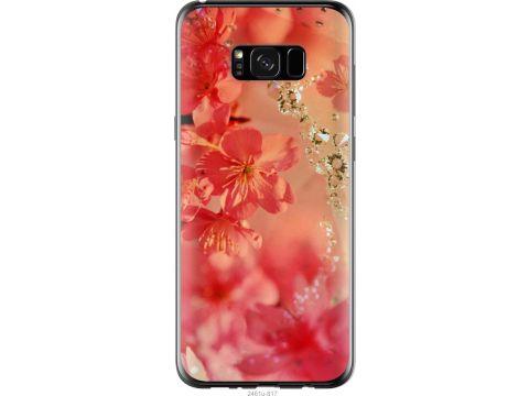 Чехол на Samsung Galaxy S8 Plus Розовые цветы (2461t-817-22700)