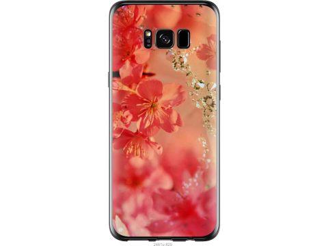 Чехол на Samsung Galaxy S8 Розовые цветы (2461u-829-22700)