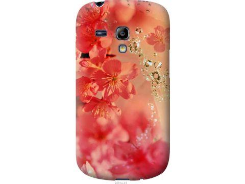 Чехол на Samsung Galaxy S3 mini Розовые цветы (2461u-31-22700)