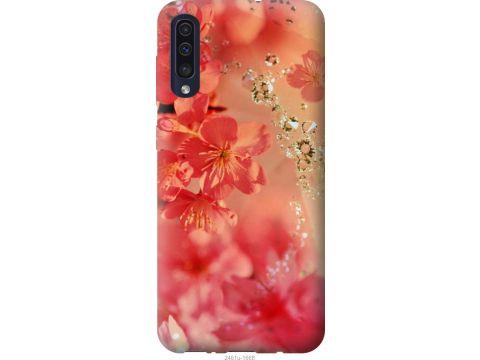 Чехол на Samsung Galaxy A30s A307F Розовые цветы (2461t-1804-22700)