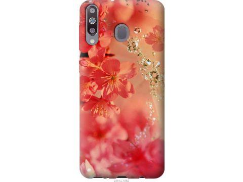 Чехол на Samsung Galaxy A40s A3050 Розовые цветы (2461u-2058-22700)