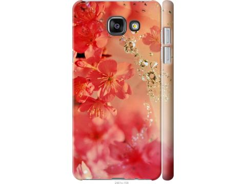 Чехол на Samsung Galaxy A5 (2016) A510F Розовые цветы (2461c-158-22700)