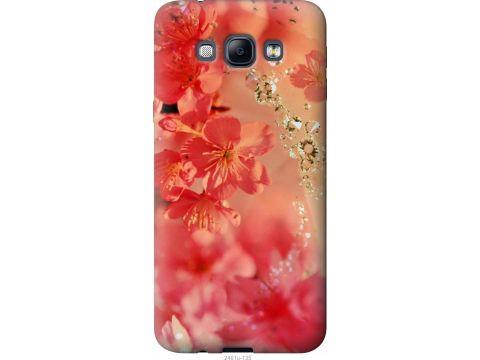 Чехол на Samsung Galaxy A8 A8000 Розовые цветы (2461u-135-22700)