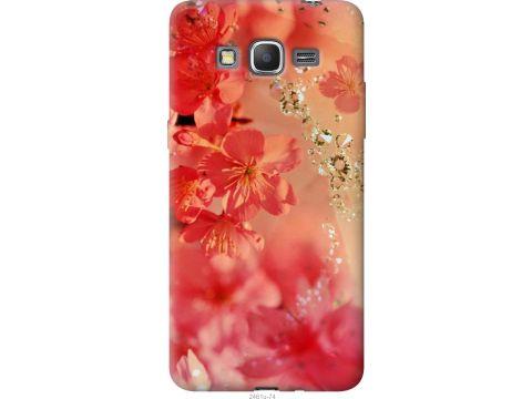 Чехол на Samsung Galaxy Grand Prime VE G531H Розовые цветы (2461u-212-22700)