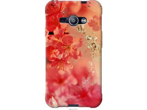 Чехол на Samsung Galaxy J1 Ace J110H Розовые цветы (2461u-215-22700)