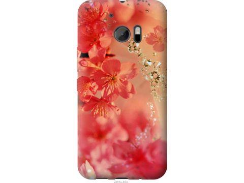 Чехол на HTC 10 Розовые цветы (2461u-464-22700)