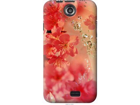 Чехол на Lenovo A300 Розовые цветы (2461u-229-22700)