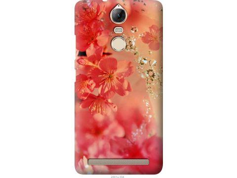 Чехол на Lenovo Vibe K5 Note Pro Розовые цветы (2461u-394-22700)